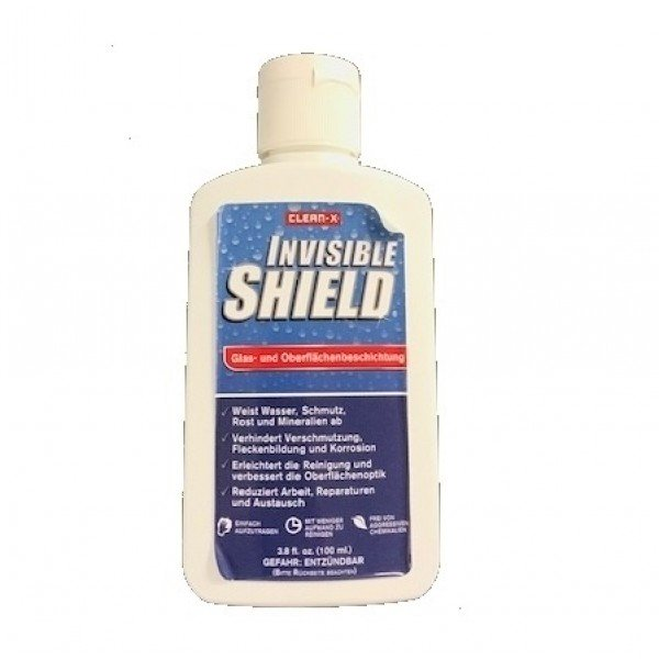 Glas- und Oberflächenbeschichtung Invisible Shield