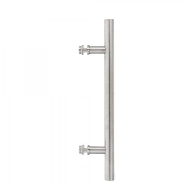 Griffstange 400 mm | einseitig | matt | Lochabstand 250 mm | kantige Befestigung