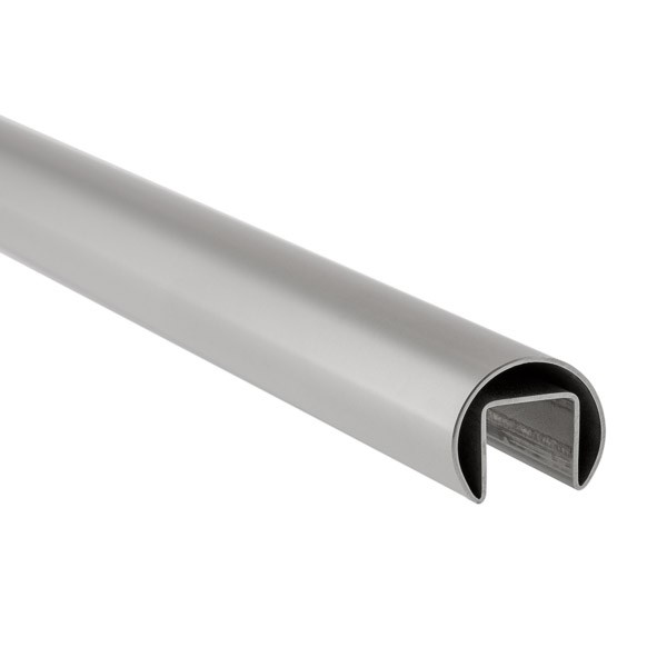 Stabiler Edelstahl Handlauf - 21,52 mm Glasstärke
