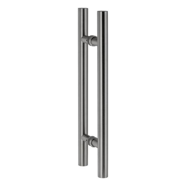 edelstahl t/ürgriff f/ür Badezimmer Duschkabine duschwand runde t/ürgriff einzigen glast/ürknauf Glast/ürgriff