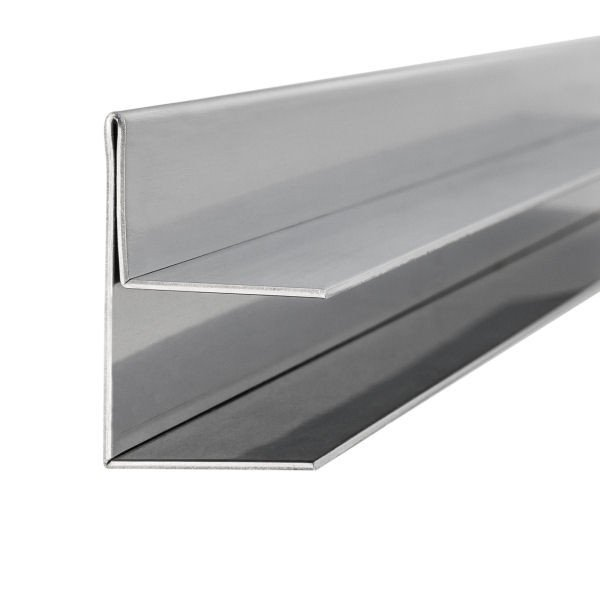 Regen-Ablaufrinne für Glasvordach