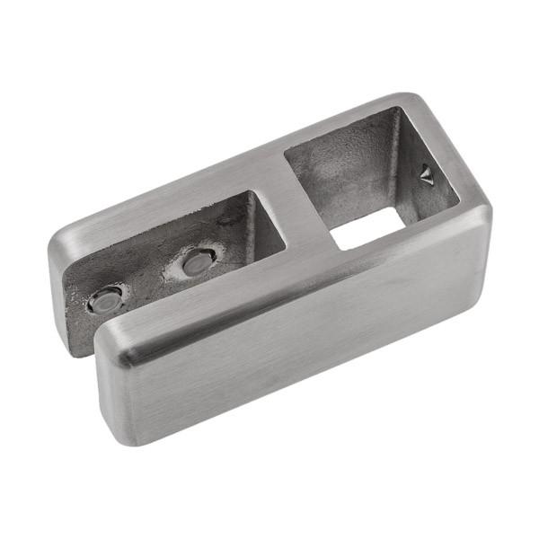 für Glasstärke 10 bis 12 mm und Rohr 25 x 25 mm