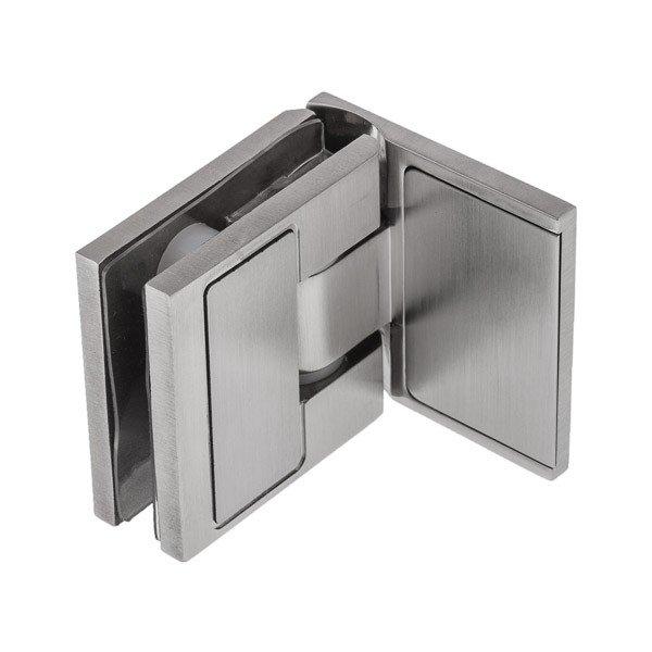 Scharnier-Verbindung für eine Glastür der Dusche