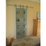 Schiebetür-Beschläge für 2-flügelige Tür, Bild 1