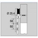 Laufwagen flaches Design 8300A-1K, Bild 2