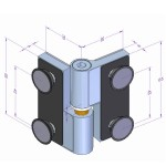Glas-Glas-Verbindung in hochglänzender Oberfläche, Bild 3