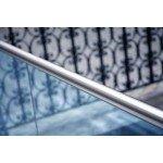 Handlauf für Glas-Brüstung aus Edelstahl, Bild 1