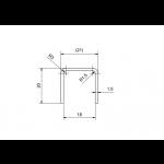 Kantenschutz U-Profil abgerundet für 17,52 mm Glas, Bild 7