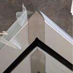Profilsystem für Vordach und Seitenwindschutz mit Verbindung über 90° - Fixhöhe 2.400 mm, Bild 6