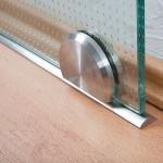 System für Schiebetür mit Bodenrolle, Bild 2