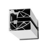 Wandklemmprofil rechtwinklig für 17,52 mm SentryGlas eckige Abdeckung Aluminium Länge bis 5.000 mm, Bild 1