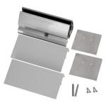 Wandklemmprofil rechtwinklig für 17,52 mm SentryGlas eckige Abdeckung Aluminium Länge bis 5.000 mm, Bild 5