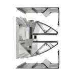 Wandklemmprofil rechtwinklig für 17,52 mm SentryGlas eckige Abdeckung Aluminium Länge bis 5.000 mm, Bild 3