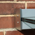 Wandklemmprofil rechtwinklig für 17,52 mm SentryGlas eckige Abdeckung Aluminium Länge bis 5.000 mm, Bild 4