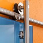 Schiebetür-Beschläge für 2-flügelige Tür, Bild 3