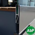 Brüstungsprofil zur vorgesetzten erhöhten Montage für Verblendungen, Bild 4