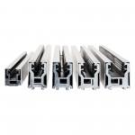 """Klemmprofil """"MINI-E"""" als Abschluss für Glastrennwände f. 8 + 10 mm Glasstärke, Edelstahloptik, Bild 6"""