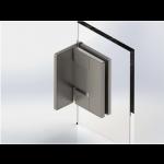 Glas-Wand-Verbinder aus Edelstahl