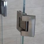 Glas-Glas Verbindung Scharnier für 180° Öffnungswinkel, Bild 7