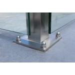 Eck-Pfosten System V Glasstärke 8 - 12,76 mm zum Einbetonieren, Bild 4