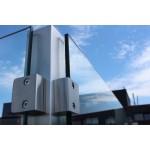 Eck-Pfosten System V Glasstärke 8 - 12,76 mm zum Einbetonieren, Bild 5