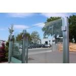 Eck-Pfosten System V Glasstärke 8 - 12,76 mm zum Einbetonieren, Bild 2
