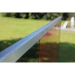 Kantenschutz U-Profil abgerundet für 12,76 mm Glas, Bild 3