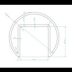 Handlauf für Glas-Brüstung aus Edelstahl, Bild 7