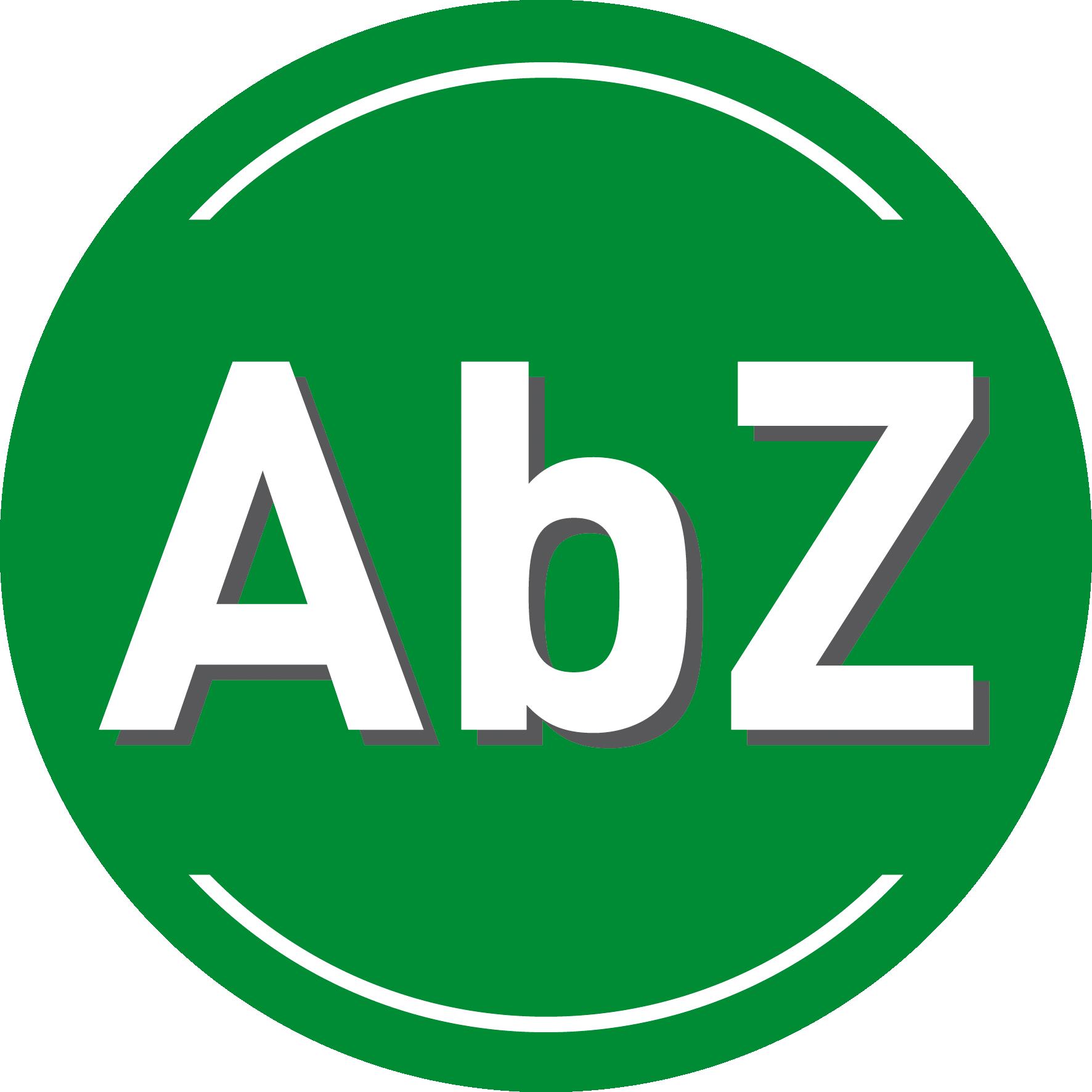 Glashalter mit AbZ