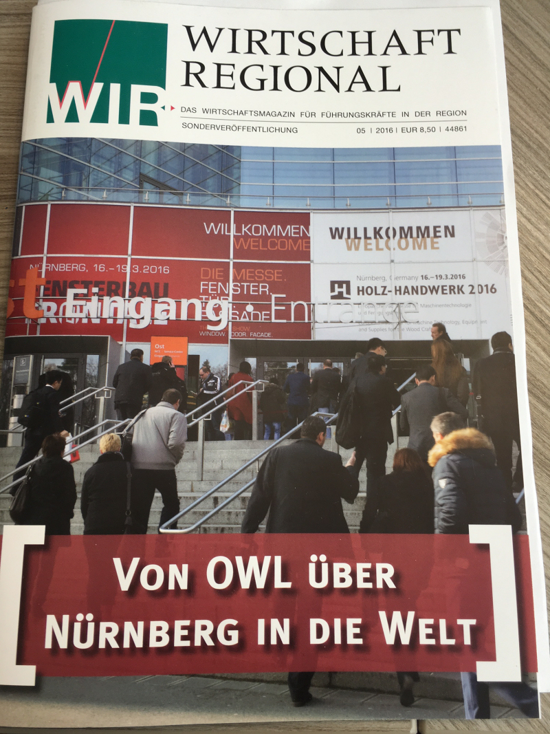 Sonderveröffentlichung fenster + fassade Nürnberg