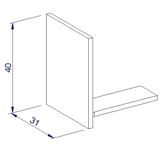 Endkappe glastrennwand profil schwarz 8 10 mm etg - Glastrennwand fur dusche ...
