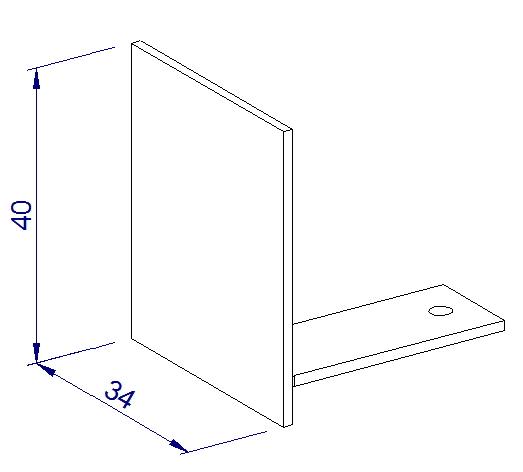 Endkappe glastrennwand profil schwarz 12 mm etg - Glastrennwand fur dusche ...